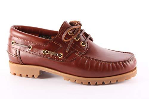 Van Bommel Bootschoenen 10470 05 Bruin/Rood