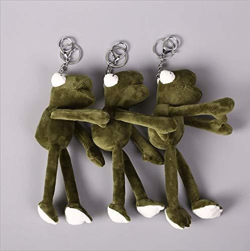 N / A Kermit der Frosch Die Muppet Show 22cm Kermit Plüschtiere Sesamstraße Puppe Tier Frosch Plüsch Stofftier Puppe 22cm