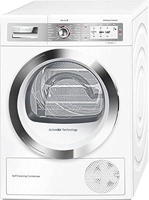 Bosch WTYH6790GB 9kg Freestanding Heat Pump Tumble Dryer - White