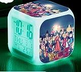 BMSYTY Hulinhai Snooze Reloj Despertador, Bola de dragón, Despertador LED, Reloj Despertador para niños, Reloj Digital, lámpara multifunción, Regalo + Caja