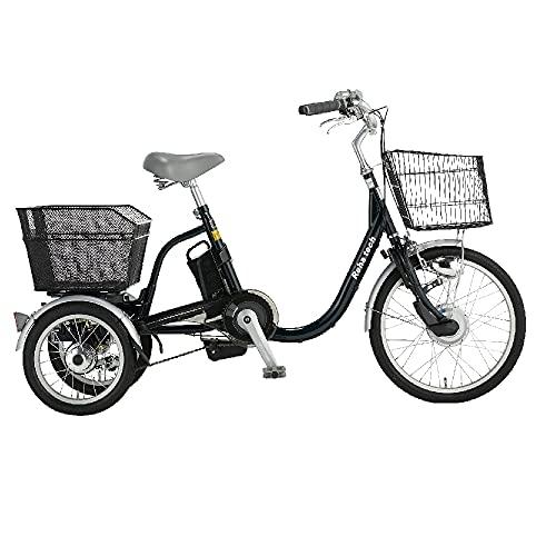 安心の 組立設置付 電動三輪車いす 電動自転車 電動車椅子 自転車 フランスベッド リハテック ランドパル ASU-3WSR 三輪 自転車 電動三輪車 電動アシスト 人気 シニア 高齢者用 安心