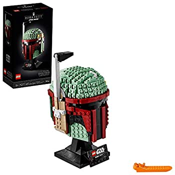 LEGO Star Wars Boba Fett Helmet 75277 Building Kit Cool Collectible Star Wars Character Building Set  625 Pieces