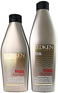 Redken Frizz Dismiss Shampoo (300ml) and Conditioner (250ml) Set