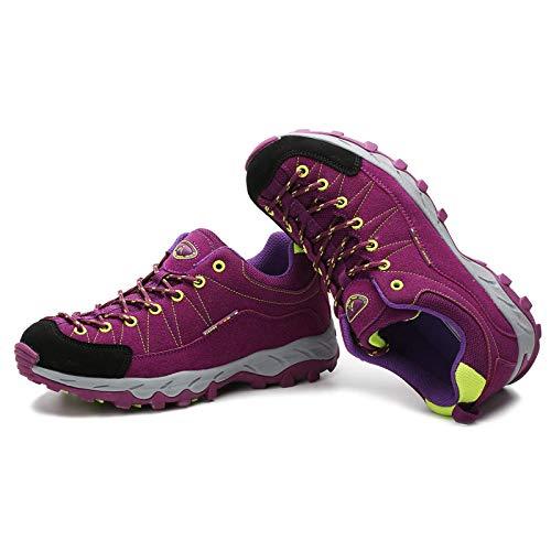 Aerlan Gym Shoes Lightweight Shoes,Botas de montaña Deportivas,Zapatos para Caminar al Aire Libre,Transpirables,Antideslizantes,para Viajes,Deportes,Zapatos para Caminar-Green_35#