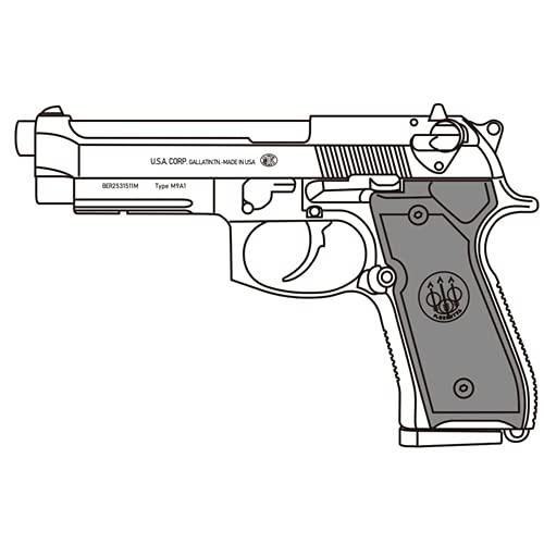 マルシン M9A1 HW ブラック(発火式 モデルガン 完成品)