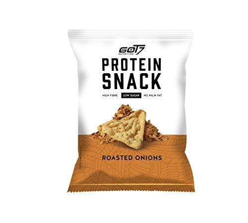 Got7 HIGH PROTEIN Snack - 6x 50g Protein Fitnesssnack – Ideal zur Diät und für Zwischendurch - 300g (Roasted Onion)