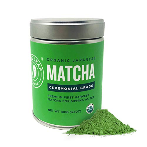 Ceremonial Grade Matcha - suited for traditional preparation where Matcha is simply whisked with hot water 100% USDA Organic Matcha Green Tea Powder, All Natural, Nothing Added (naturally gluten free and vegan) Authentic Japanese Origin - sourced dir...