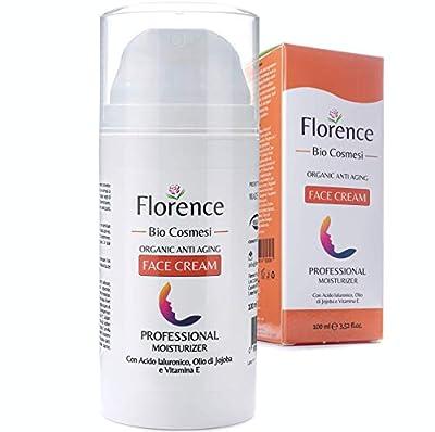 Big 3,52oz. Organic Retinol and Hyaluronic Acid Moisturizer Cream – 20+ Vegan Anti Aging and Anti Wrinkle Ingredients – Face & Eye contour Cream For Men/Women – Dermatologically Tested by Florence