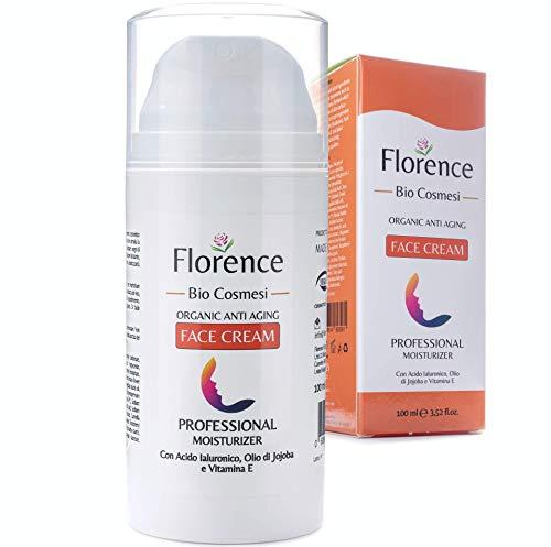 Florence Retinol Creme mit Hyaluronsäure+Vitamin C+E+ALOE●Groß 100ml Hochdosiert●Natürliche Hyaluron Feuchtigkeitscreme