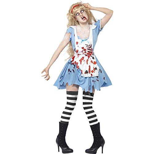 Fashion-Cos1 Cadáver Novia Disfraces de Halloween para Mujeres Adultas Club Party Cosplay Juego de rol Cos Traje de Vampiro