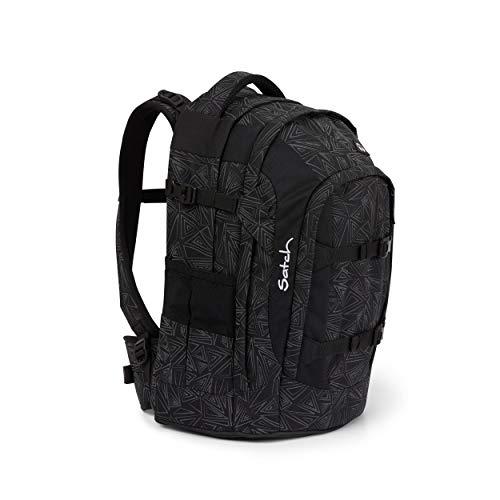 Satch pack Schulrucksack - ergonomisch, 30 Liter, Organisationstalent - Ninja Bermuda - Black