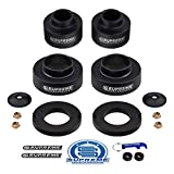 Supreme Suspensions - Full Lift Kit for 2002-2009 Chevy Trailblazer and GMC Envoy 3' Front + 2' Rear Suspension Lift High Density Delrin Spacers