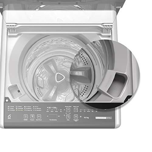 Whirlpool 6 Kg 5 Star Royal Fully-Automatic Top Loading Washing Machine (WHITEMAGIC ROYAL 6.0 GENX, Satin Grey, Hard Water Wash)