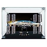 Teca de plexiglás – Arca Lite® | Estación espacial internacional Lego (21321) (Teca con fondo)