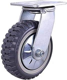 Meubelwielen Wielen Zware wielen Stuurwiel Rubber wielen Tafeltrolleys Bed Werkbank Thuisgebruik Industriële Platte Wielen...