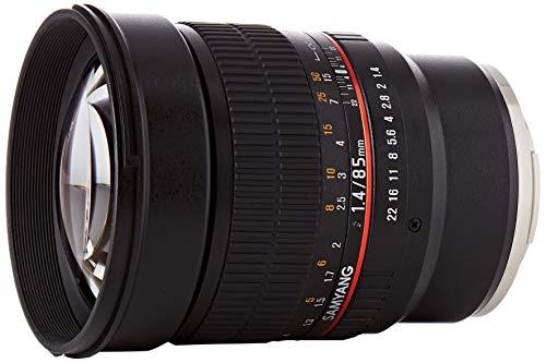 Samyang 85/1,4 Objektiv DSLR Sony E manueller Fokus Fotoobjektiv, Porträtobjektiv schwarz