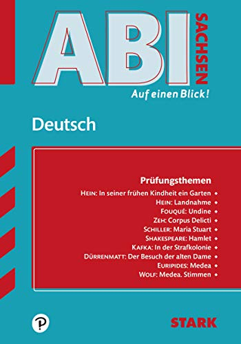 STARK Abi - auf einen Blick! Deutsch Sachsen 2020/2021