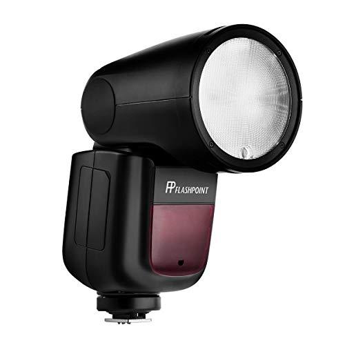 Flashpoint Zoom Li-on X R2 TTL On-Camera Round Flash Speedlight for Canon (Godox V1)