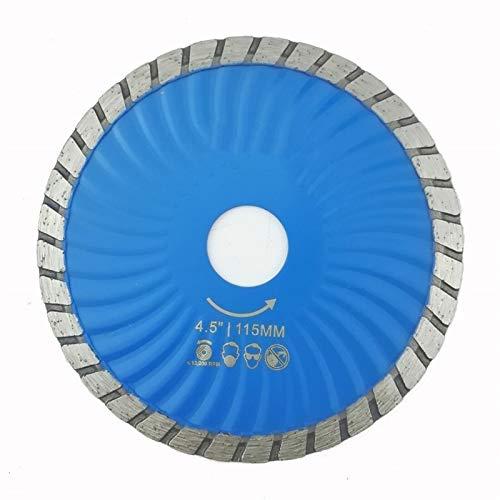 YUNJINGCHENMAN 115mm presurizado en Caliente lámina del Diamante Turbo 4.5 Pulgadas de Diamante de Corte de Piedra concreto del Disco de la Rueda de Diamante Hoja de Sierra