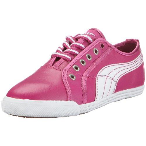 PUMA Crete Lo Femmes Cuir Chaussures/Chaussures - Very Berry - Size EU 36