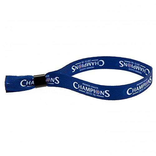 Leicester City F.C. Festival Armband Champions Offizielles Merchandise-Produkt