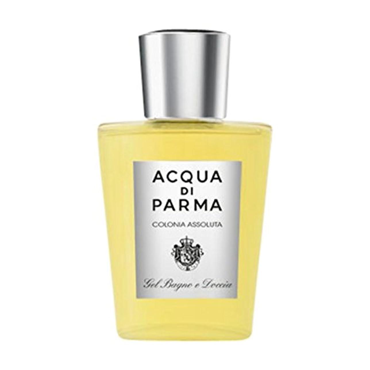 花嫁幸運なバトルアクアディパルマコロニアAssoluta風呂とシャワージェル (Acqua di Parma) (x6) - Acqua di Parma Colonia Assoluta Bath and Shower Gel (Pack of 6) [並行輸入品]