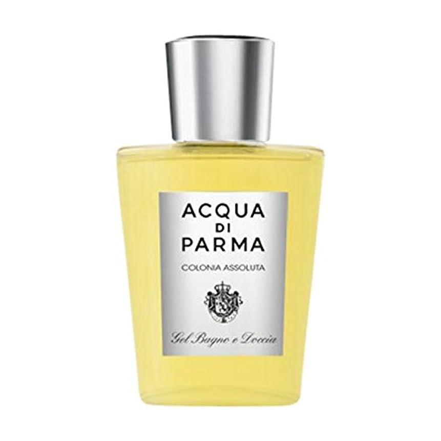 シンク病気だと思う宣教師アクアディパルマコロニアAssoluta風呂とシャワージェル (Acqua di Parma) (x2) - Acqua di Parma Colonia Assoluta Bath and Shower Gel (Pack of 2) [並行輸入品]