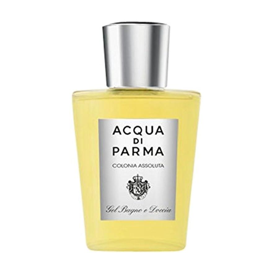 北西イヤホン槍アクアディパルマコロニアAssoluta風呂とシャワージェル (Acqua di Parma) - Acqua di Parma Colonia Assoluta Bath and Shower Gel [並行輸入品]