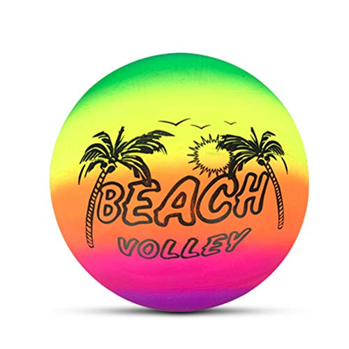 Inflatable Beach Ball Beach Ball Water Repellent Beach Ball Bathing Ball Beach Ball Bathing Balls Bath Toys Pump Beach Ball for Summer Outdoor and Swimming Party Supplies