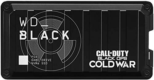 WD BLACK P50 Game Drive de 1 TB - Edición Especial de Call of Duty: Black Ops Cold War - Funciona con PC/Mac y PlayStation