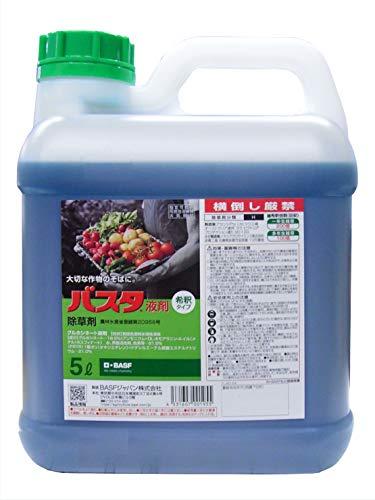 バイエルクロップサイエンス 除草剤 原液タイプ バスタ液剤 5L