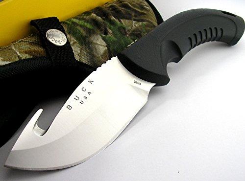 Buck USA 394BO Omni Hunter Guthook 12Pt SANDVIK Steel Fixed Blade Knife