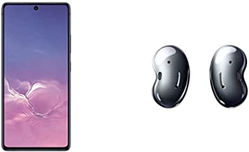 Samsung Galaxy S10 Lite New Unlocked Android Cell Phone 128GB of Storage, US Version with Samsung Galaxy Buds Live, Mystic...