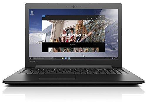 Lenovo Ideapad 310-15ABR Portatile con Display da 15.6' HD, Processore AMD A10-9600P, RAM 12 GB, 1 TB HDD, Scheda Grafica AMD R16M-M1-30, S.O. Windows 10 Home, Nero, Tastiera Italiana