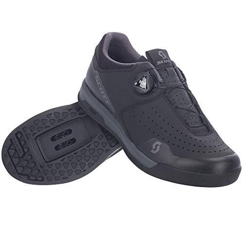 Scott Sport Volt Clip Dirt MTB Fahrrad Schuhe schwarz/grau 2021: Größe: 43