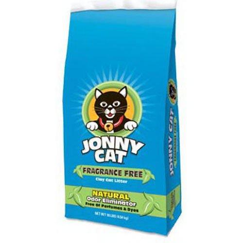 Jonny Cat Fragrance Free Cat Litter Bag, 10-Pound