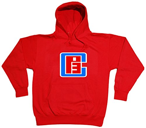 KING THREADS Chris Paul Los Angeles Clippers CP3Logo Sudadera con Capucha