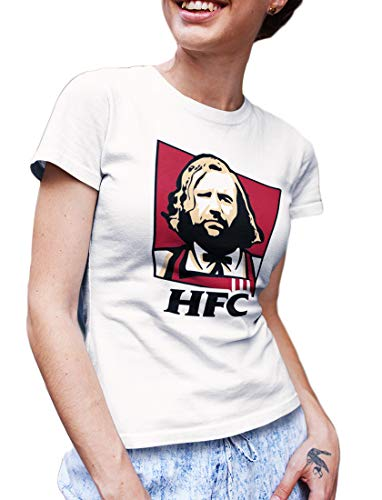 LeRage Shirts Damen T-Shirt Weiß Weiß