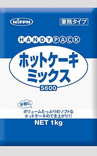 ニップン S600 ホットケーキミックス 1kg ×5袋