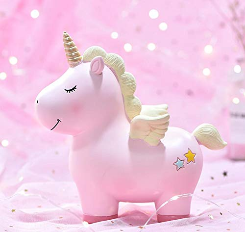 Piggy Bank Unicornio Piggy Bank es indeseable para niños contra caídas en familias Adultas Piggy Bank Pink