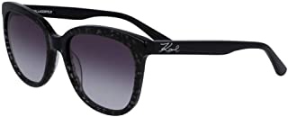 Karl Lagerfeld Butterfly KL968S Black Sunglasses For Women, Grey 55 mm