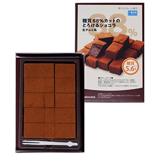 シャトレーゼ 糖質カットショコラ生チョコ風 3箱入 糖質制限 糖質オフ 低糖質スイーツ チョコレート