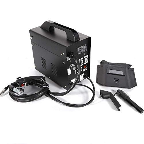 DiLiBee Máquina de soldadura MIG 130 230V, máquina de soldadura de alambre continuo,...
