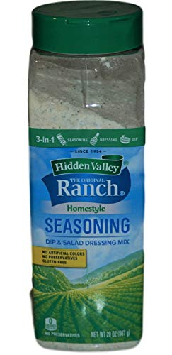 Hidden Valley The Original Ranch - Shaker per salse, condimento e condimento per insalata, multiuso, senza conservanti
