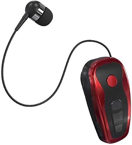 Bluetooth koptelefoon met klapdeksel, nummers van zakelijke oproepen op lange afstand, Bluetooth, rekbare drive call-blackblue, kleur: witzilver