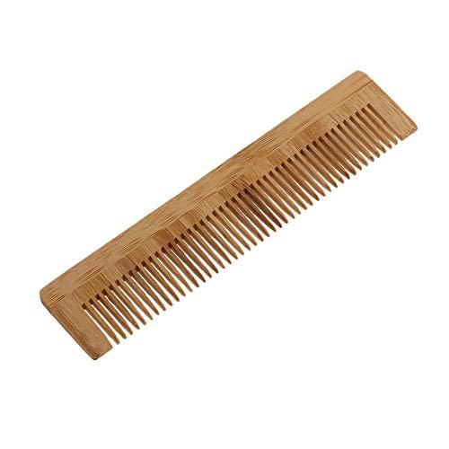 YC electronics Brosse Cheveux 1pcs de Haute qualité Massage Peigne en Bois de Bambou Cheveux Vent Brosses Brosse Soins des Cheveux et Spa Beauté de Massage Peigne en Gros Soins des Cheveux