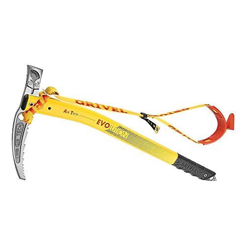 Grivel Air Tech Evolution Hammer Eispickel, Gelb, 53cm