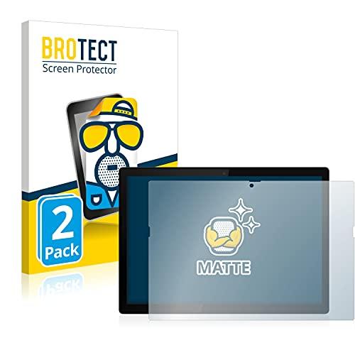 BROTECT 2X Entspiegelungs-Schutzfolie kompatibel mit Lenovo ThinkPad X12 Detachable Bildschirmschutz-Folie Matt, Anti-Reflex, Anti-Fingerprint
