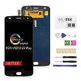 SRJTEK pour Motorola Moto Z2 Play écran LCD,XT1710 Super AMOLED Screen pièces derechange de...