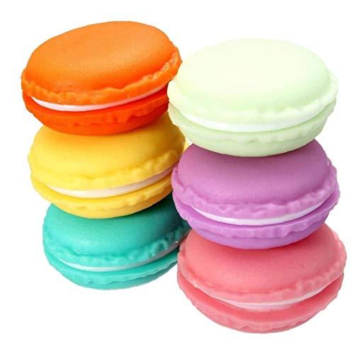 Mini Macaron Box 6Pcs Jewelry Storage Box Pill Box Organizer auricolare contenitore Multiuse Caso Macaron